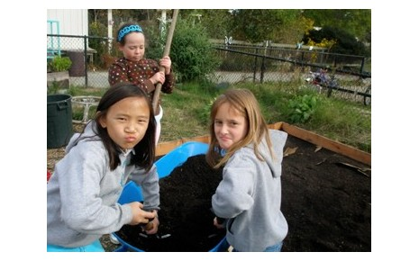 Garden Work! (4th and 5th grade)
